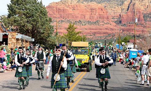 Sedona St Patrick's Parade & Festival