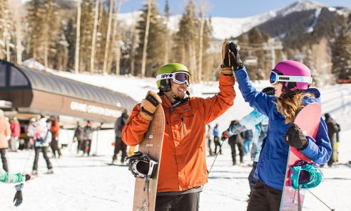 Enjoy great skiing and riding conditions on the San Francisco Peaks at Arizona Snowbowl! Open November through April.