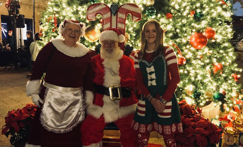 Sedona's Tree Lighting & Santa Visit